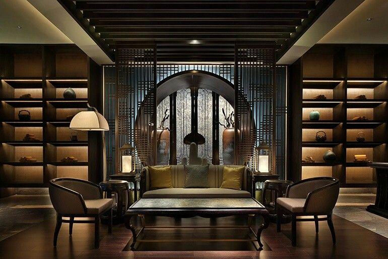 Design D'intérieur De Luxe Asiatique Moderne