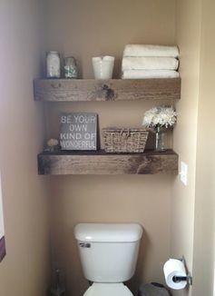 狭いトイレの収納には棚が便利 後から取り付ける棚のアイデア7選