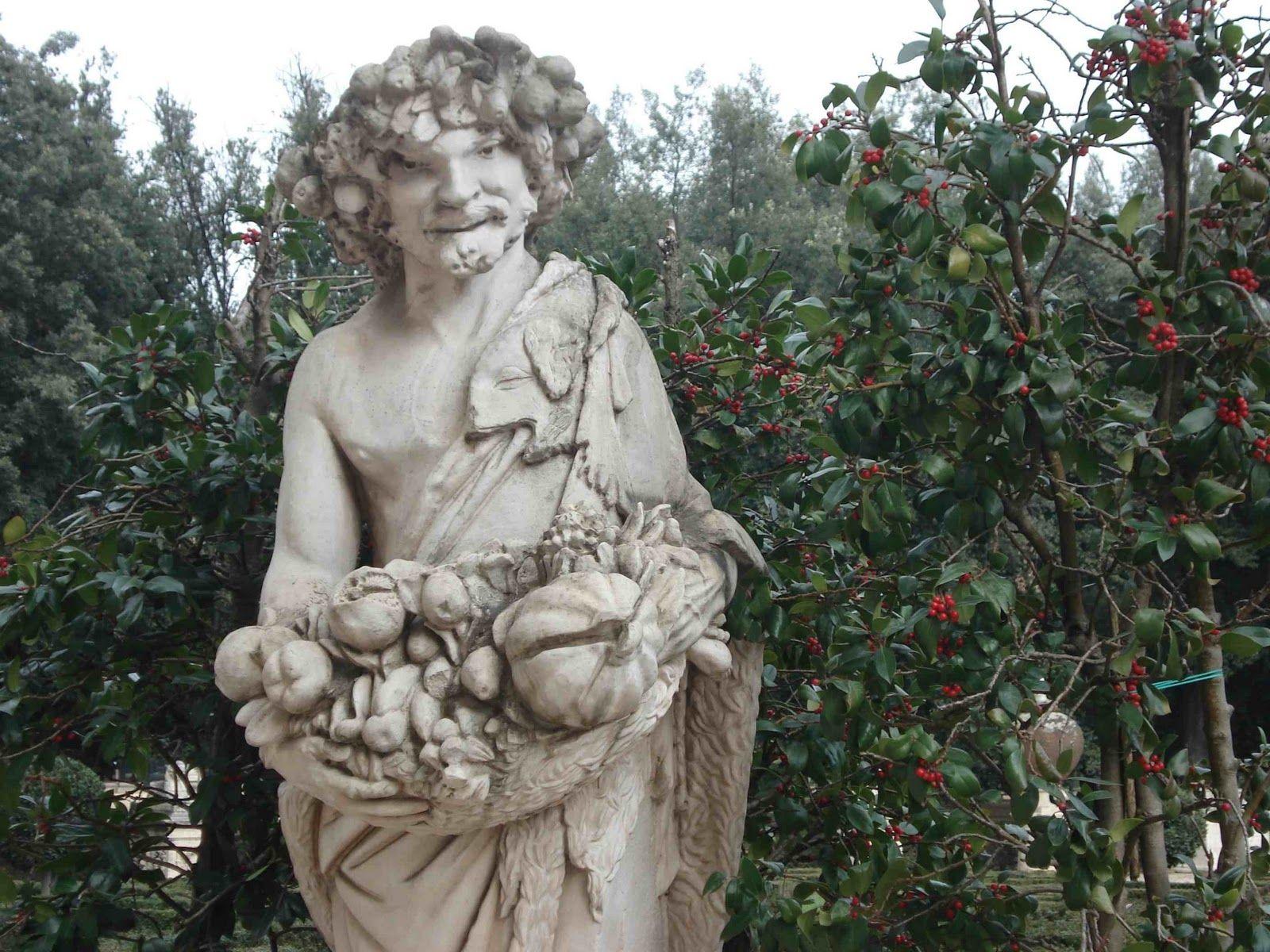 Giardino di Villa Borghese Roma Italy