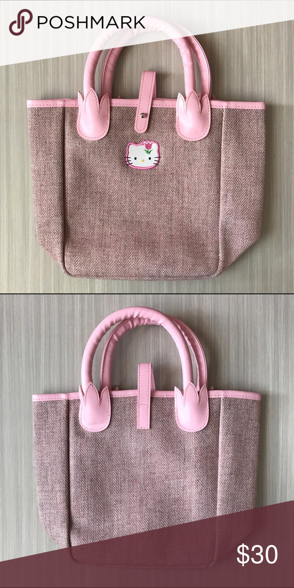 Pink Sanrio Hello Kitty Bag Brand new! Perfect to gift someone who loves Hello Kitty or to treat yourself! If you have any questions feel free to ask me and check out my closet! :) Sanrio Bags