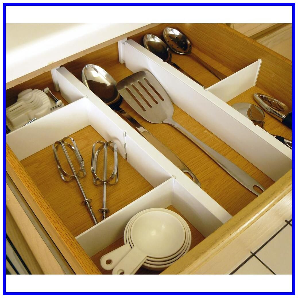 41 Reference Of Adjustable Drawer Dividers Plastic In 2020 Kitchen Drawer Dividers Drawer Dividers Kitchen Drawers
