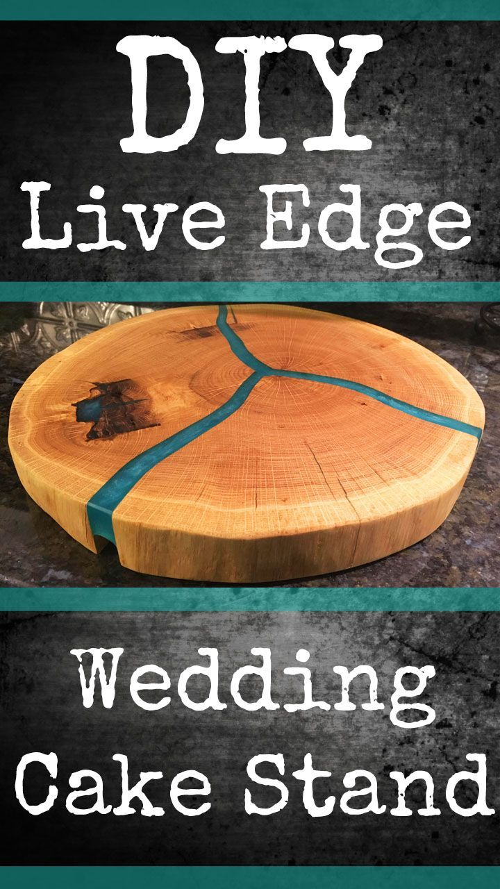 Rustic wedding cake stand pinterest rustic decor and epoxy