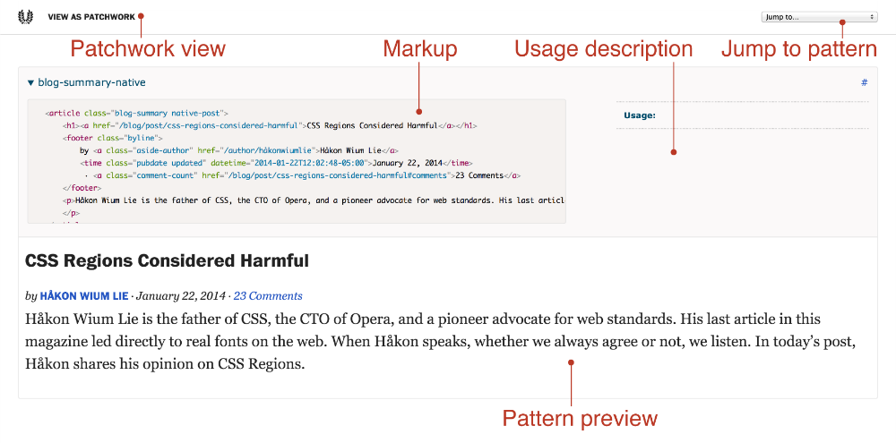 Getting Started With Pattern Libraries Via Alistapart Com