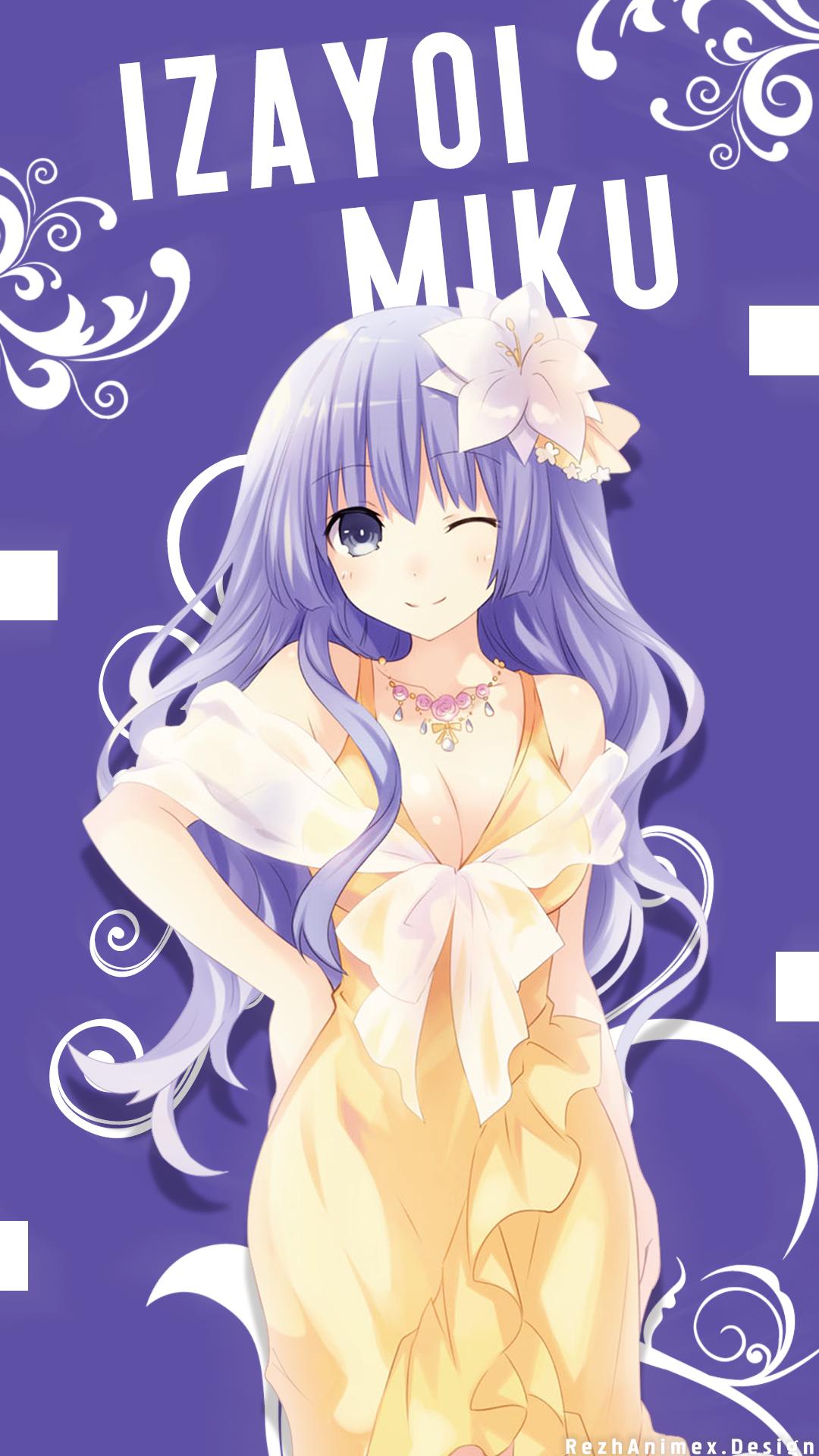 Izayoi Miku Wallpaper Android Ilustrasi Karakter Gadis Animasi Gambar Karakter