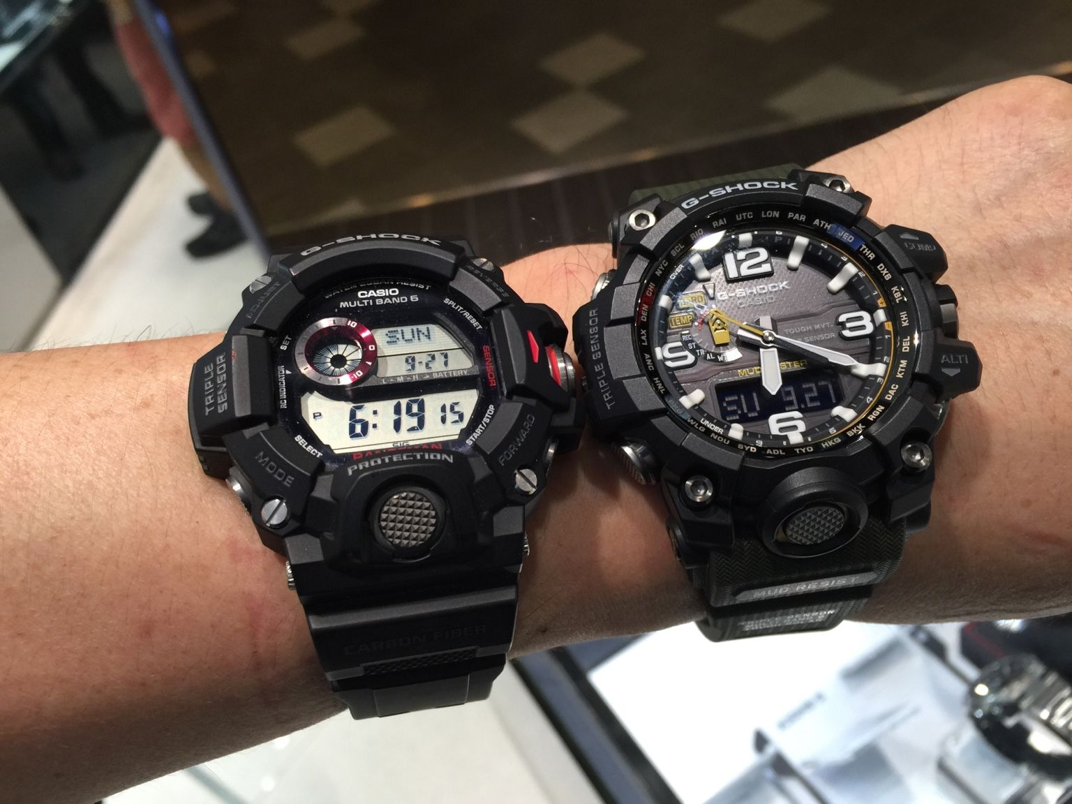 Casio G Shock Rangeman Vs Mudmaster Mens In 2018 Pinterest Gw 9400dcj 1