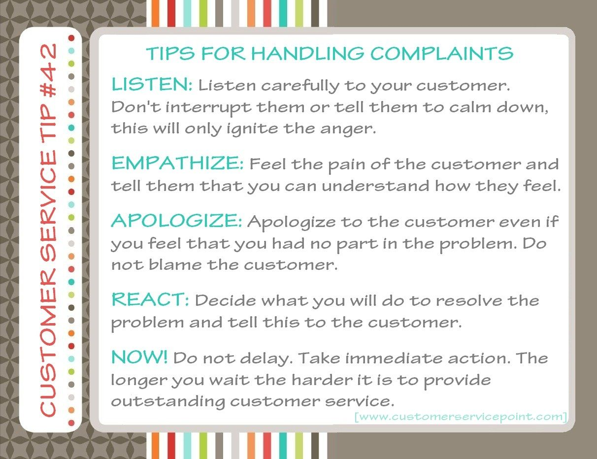 42 Handling Customer Complaints Customer Complaints Positivity Anger
