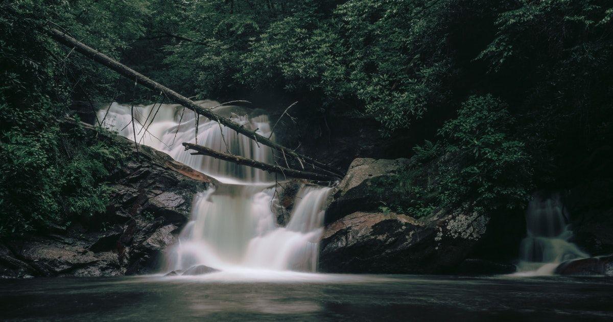 Station Cove Falls | Waterfall, Beautiful waterfalls ... |Small Cove Waterfall