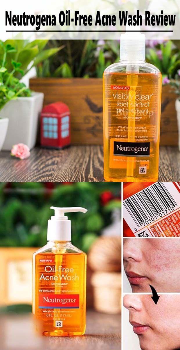 Neutrogena Oil-Free Acne Wash Review.#neutrogena #acnetips ...