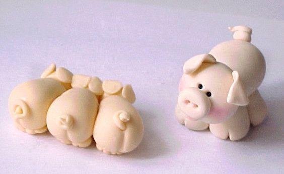 Cerditos para modelar biscuit pinterest cerdo for Ceramica para modelar