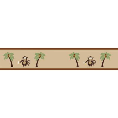 Sweet Jojo Designs Monkey Time Wallpaper Border Sweet Jojo Designs Monkey Wallpaper Jojo Designs