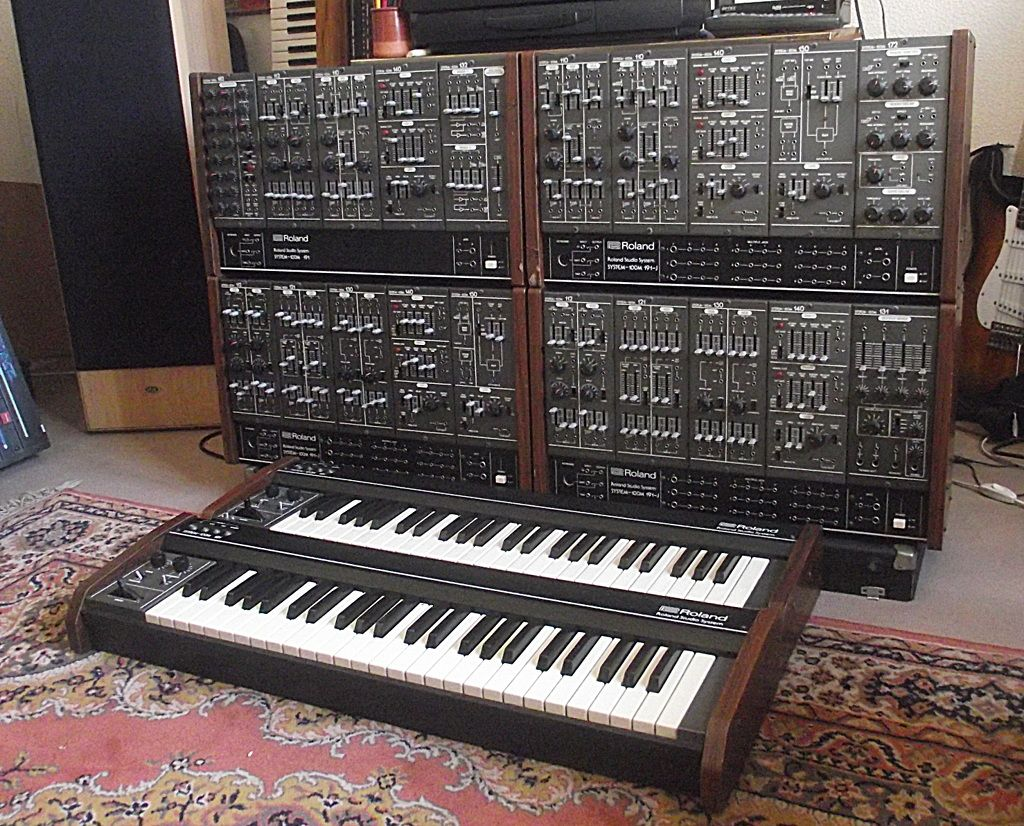 roland system 100 m modular synthesizer synth ace ness in 2019 music instruments drum. Black Bedroom Furniture Sets. Home Design Ideas