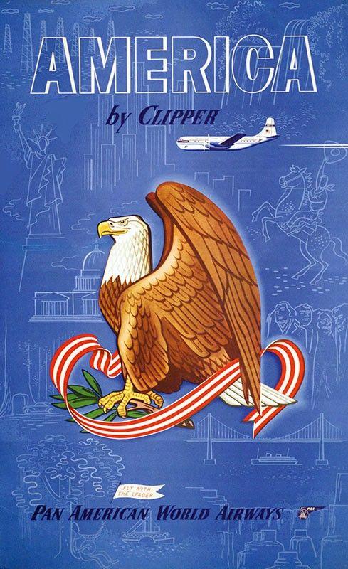 America Clipper Pan By Pinterest 1950's Am qC5BwS