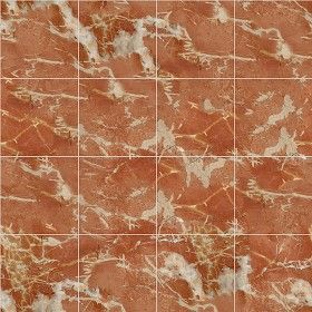 Textures Texture Seamless Alicante Red Marble Floor Tile 14617 Architecture