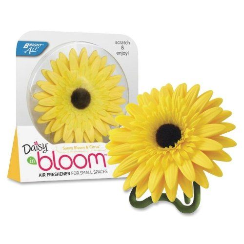 Wholesale Case Of 25 Bright Air Bloom Daisy Air Fresheners Daisy