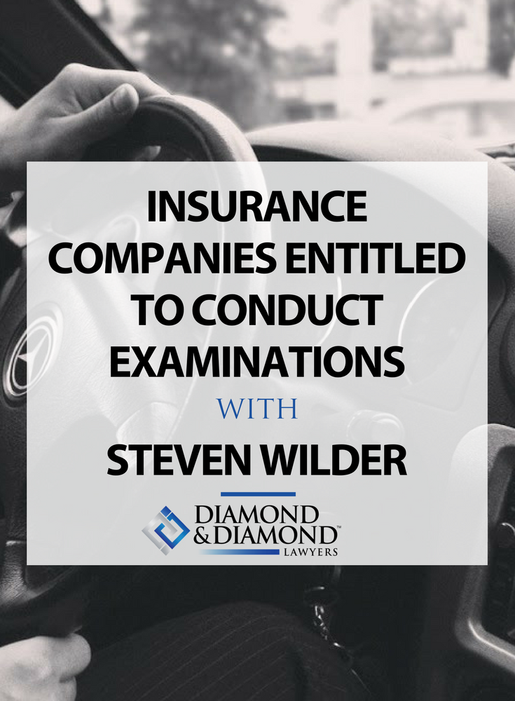 Insurance Companies Entitled To Conduct Examinations Under Oath