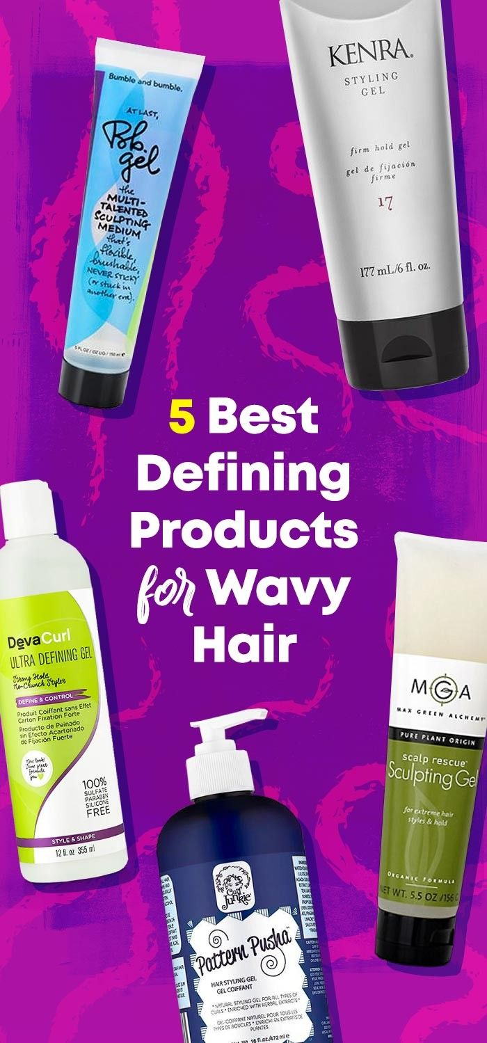 The Best Defining Products For Naturally Wavy Hair Natural Wavy
