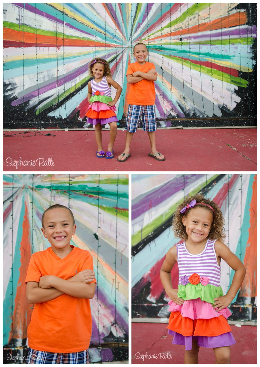 #StephanieRallsPhotography #Colorful #Familyphotos #TheWombOKC #Sibling