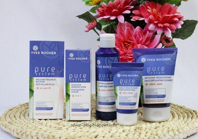 مجموعة بيور سيستم من ايف روشيه للتخلص من آثار حب الشباب Yves Rocher Pure System Anti Acne Line Clean Pores Anti Acne Yves Rocher