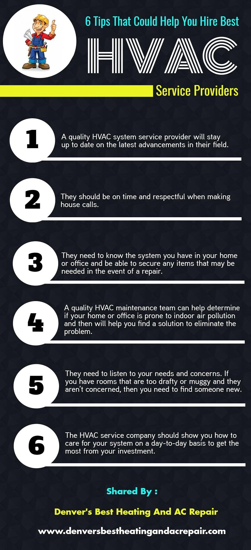 6 Tips That Could Help You Hire Best Hvac Service Providers Hvac