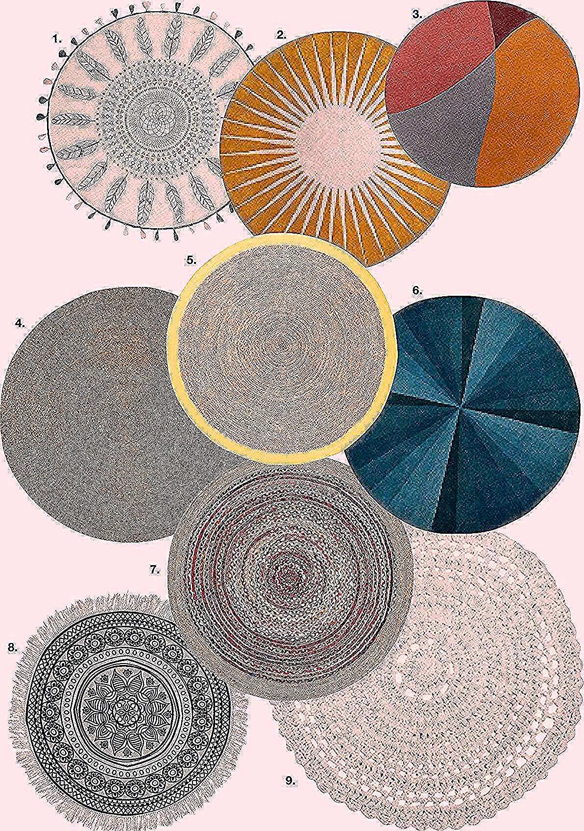 Tapis Rond In 2020 Deco Blog