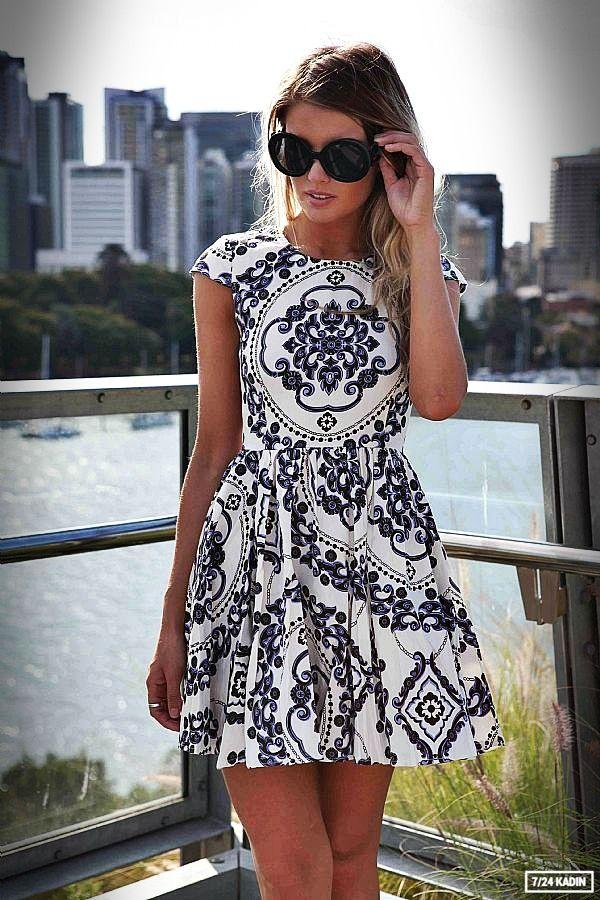 25 En Tarz Günlük Elbise Kombinleri