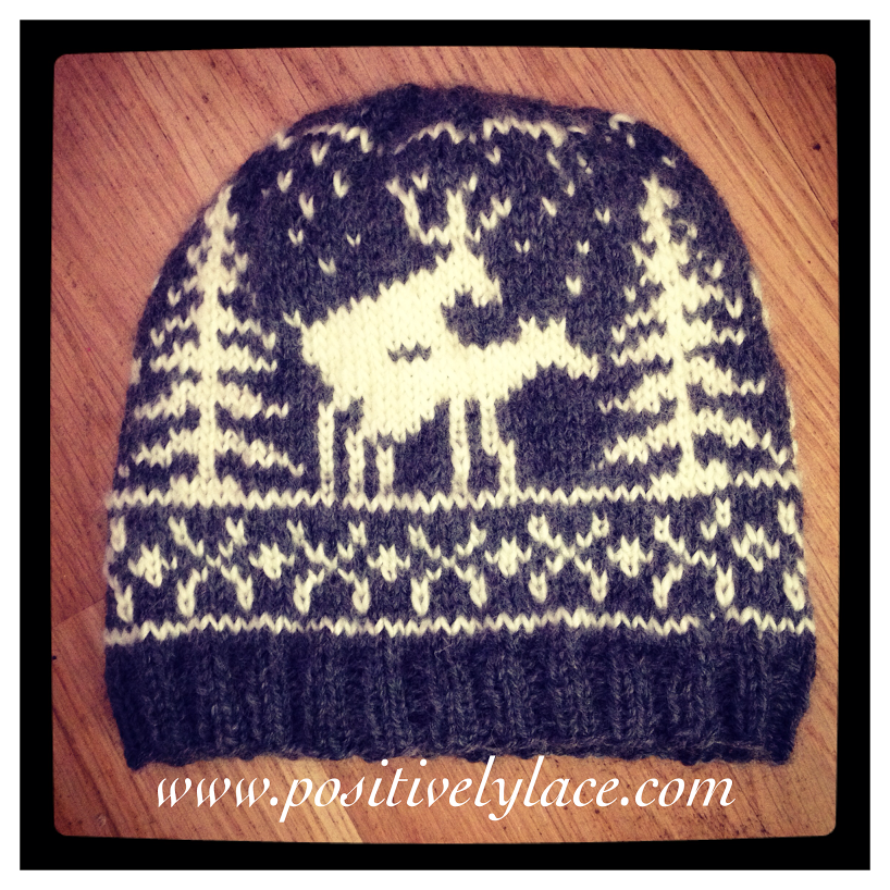 The Naughty Deer Hat, free knitting pattern! | PositivelyLace Knit ...