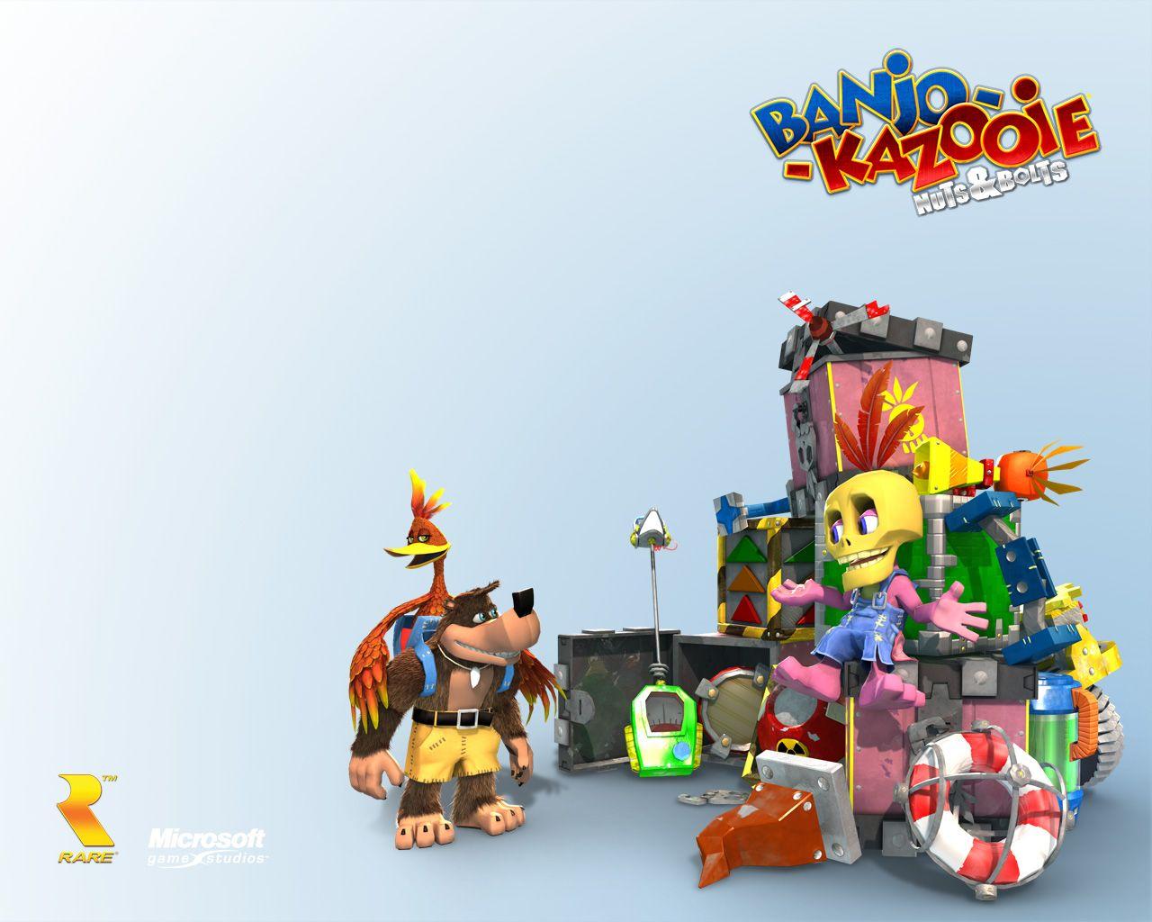 Banjo Kazooie Nuts Bolts Banjo Kazooie Banjo Classic Games