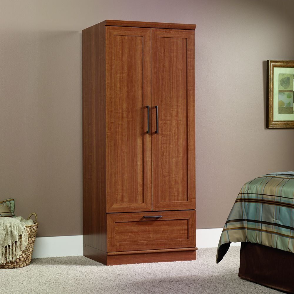 classic free standing closet wood free standing. Black Bedroom Furniture Sets. Home Design Ideas
