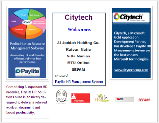 Citytech welcomes 5 well-known organizations on board
