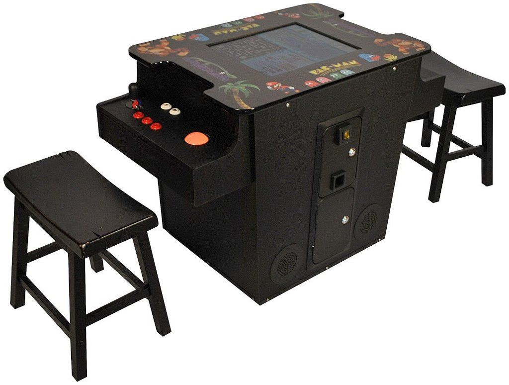 Classic Table Arcade Games Cocktail Table Arcade Game 60 1 Classic Game Collection Pac Man Ms