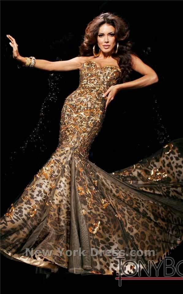 Leopard Print Wedding Dress Google Search Wedding Dresses