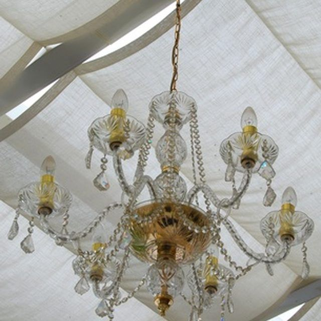 You can make your own miniature doll-house chandelier from ...