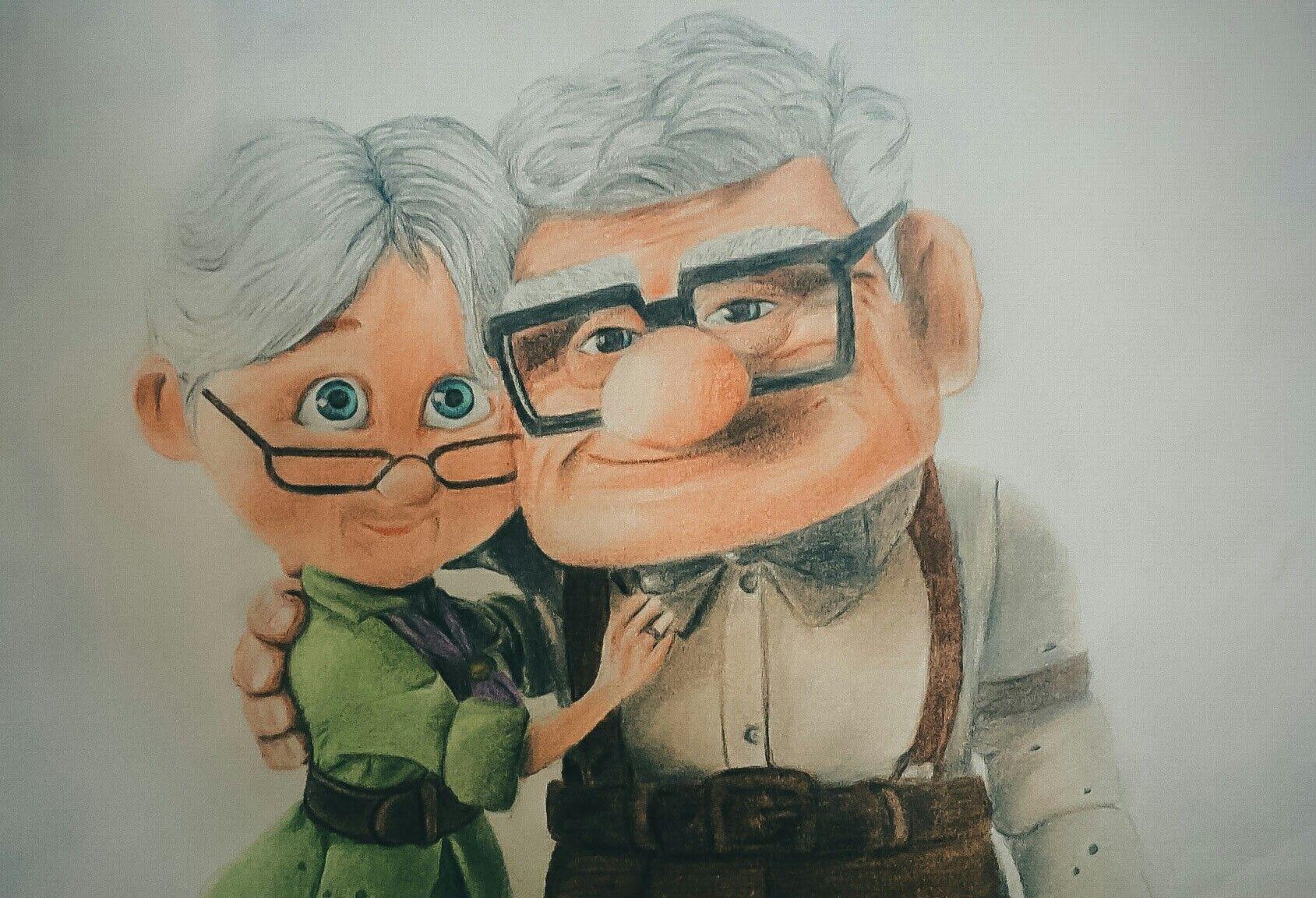 Dibujo Up Disney Pixar Dibujos Disney Pixar Fondo De Pantalla Animado