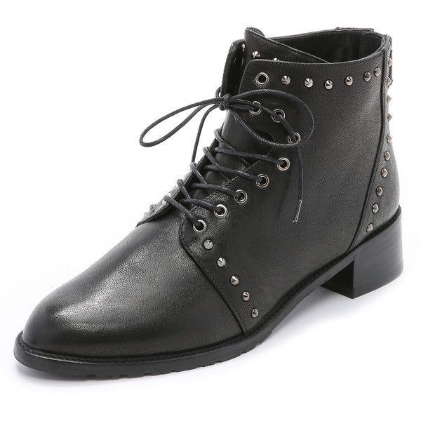 sale outlet locations cheap hot sale Stuart Weitzman Studded Lace-Up Boots fast delivery for sale official cheap online rR9y3P