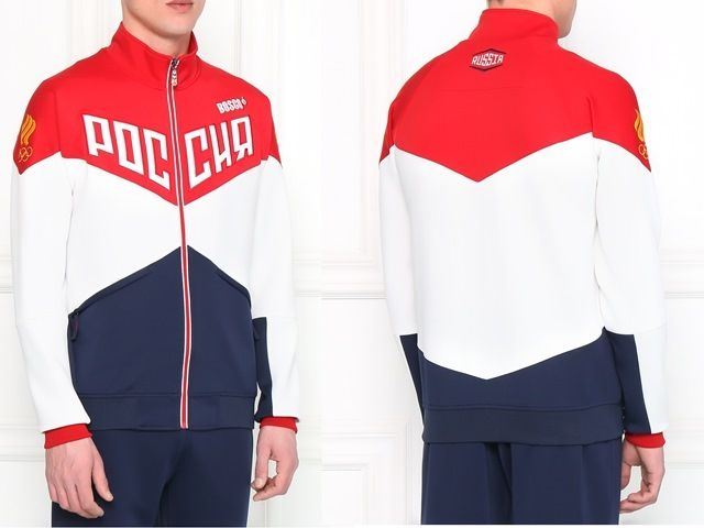 dbc68a2224863d Tracksuit Official Uniform Russian Team Olympic Games Rio 2016 Bosco ...