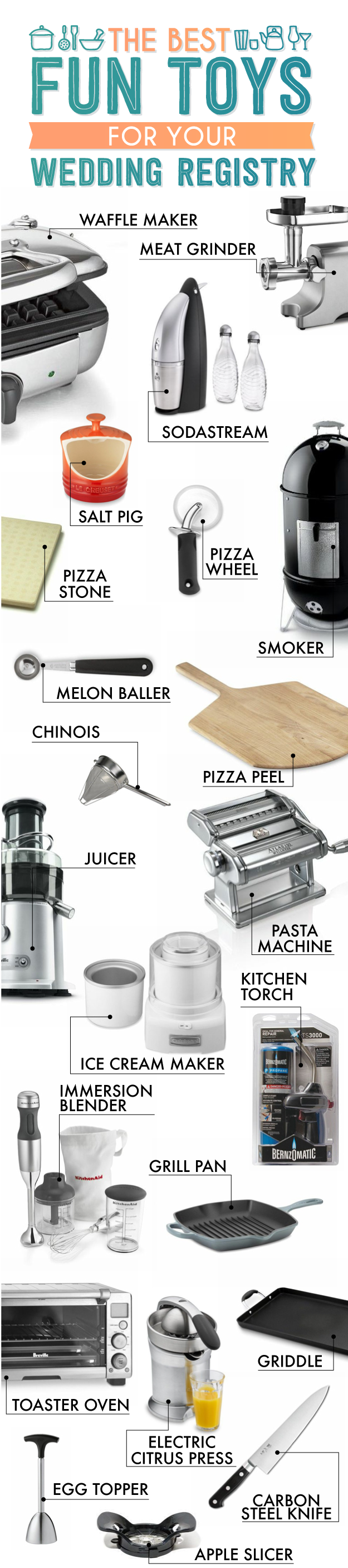 The Essential Wedding Registry List For Your Kitchen (With