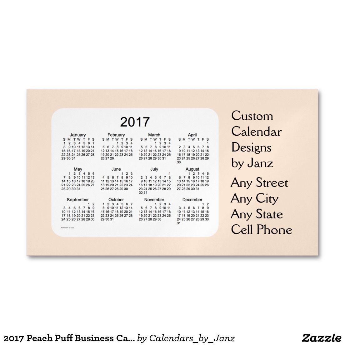 2017 peach puff business calendar by janz magnet magnetic business 2017 salmon business calendar by janz magnet magnetic business cards pack of colourmoves Images