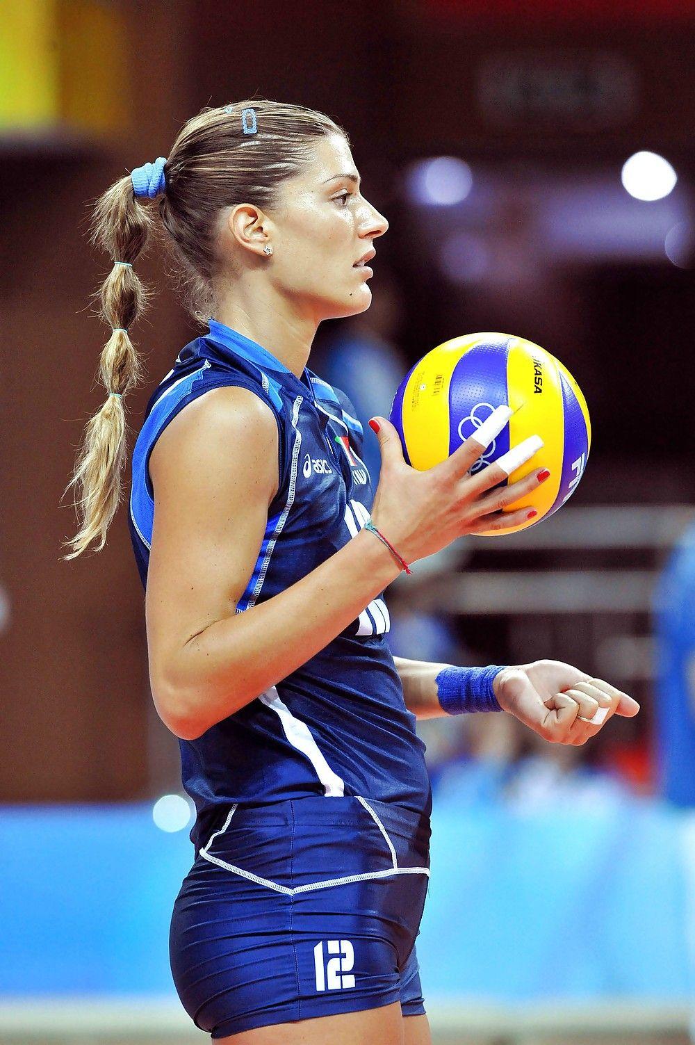 Francesca Piccinini Volleyball Players Female Volleyball Players Women Volleyball
