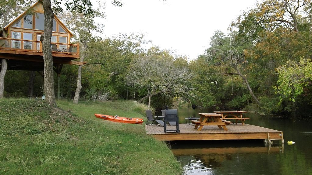 New Braunfels Cabin Rental: Geronimo Creek Retreat   Retreat Into Peace And  Nature   Cabins