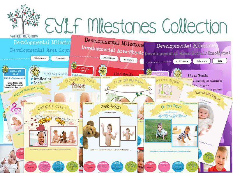 Watch Me Grow Eylf Editable Milestones Moments Pack This Pack Includes A Developmental Summary Set And A Milestones Moments S Learning Stories Examples Learning Stories In This Moment
