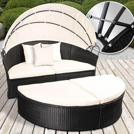 Popular CASABLANCA Lounge Grau garten gartenm bel gartensofa gartenlounge loungegruppe sitzgruppe