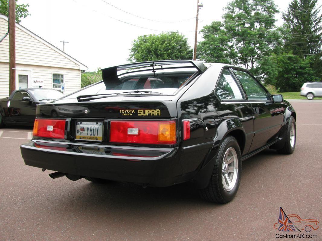 1982 toyota supra 1982 toyota celica supra only 62k original miles super clean car. Black Bedroom Furniture Sets. Home Design Ideas