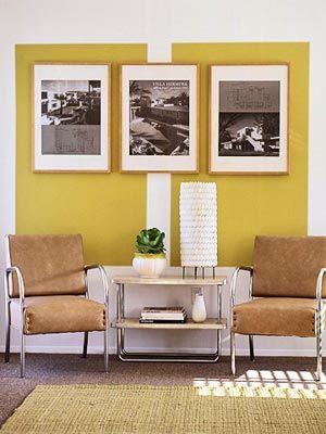 Mar&Vi Creative Studio - Italia: Interior Design: Pareti con settori ...