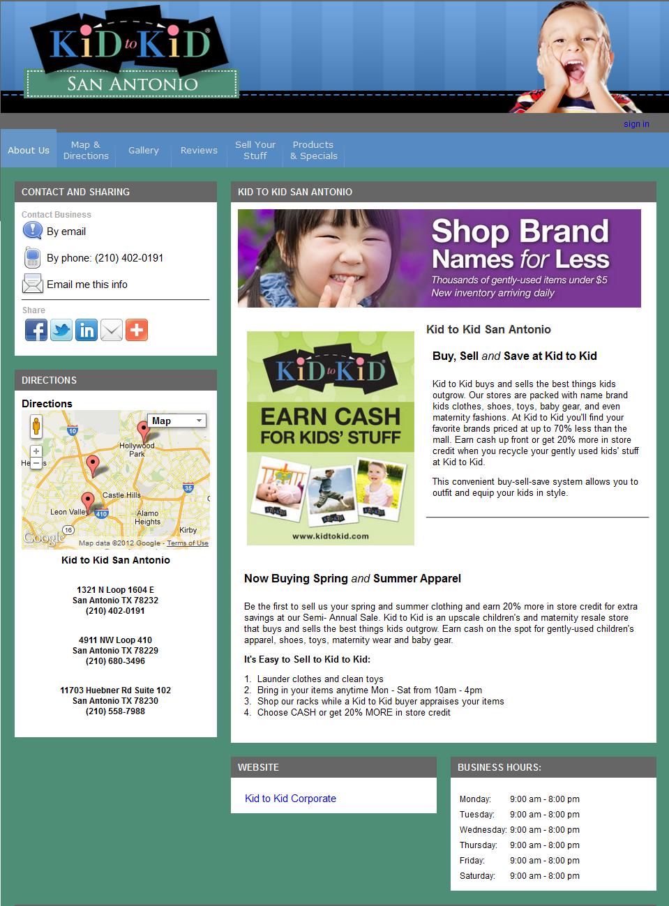 New SEO website in San Antonio