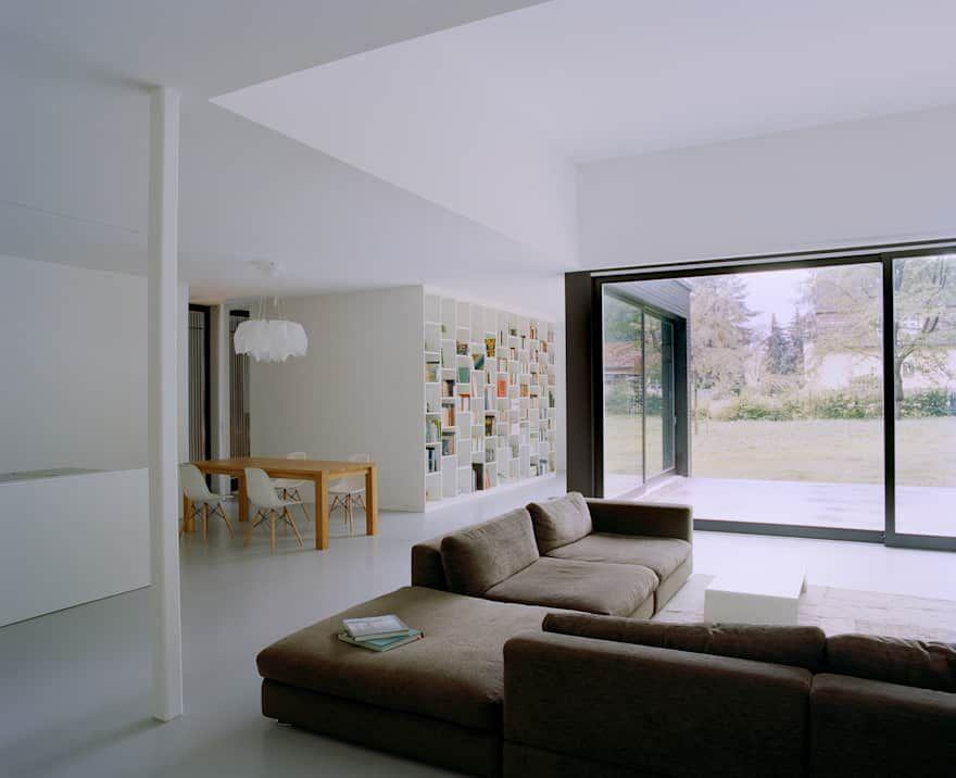 privathaus bei berlin von iox architekten gmbh  blaue