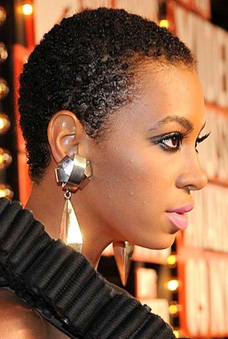 Very Short Black Hairstyles For Black Women Natural Hair Styles