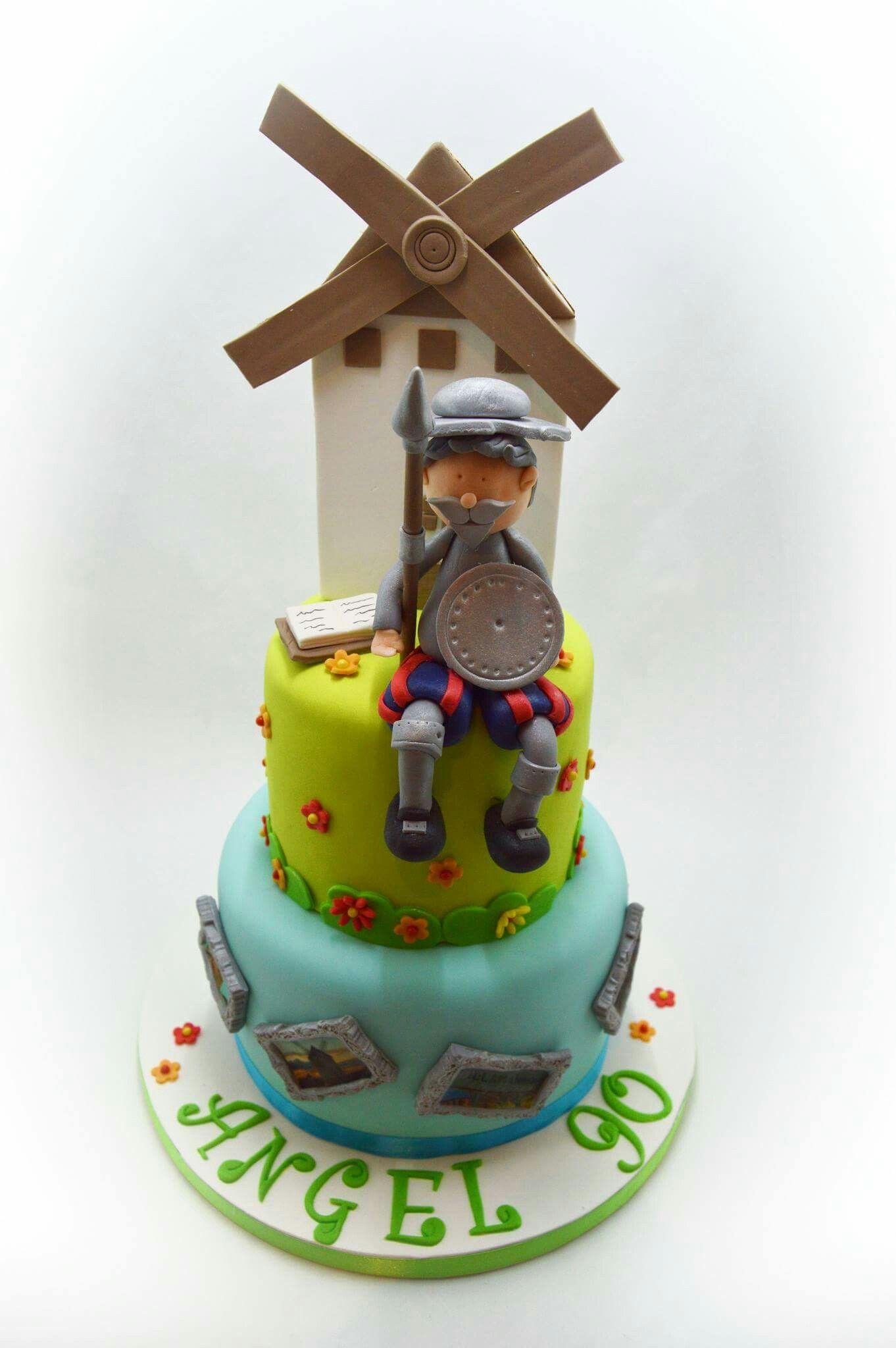 Quijote cake Baby birthday cakes, Cake, Birthday cake