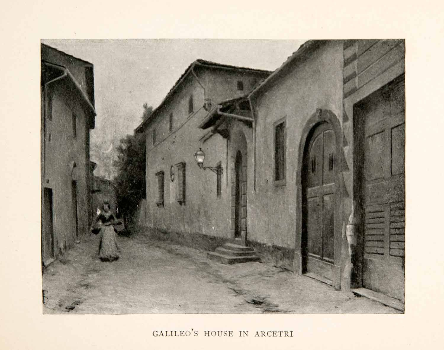 Container Haus Galileo 1902 Print Galileo S House Arcetri Italy Cityscape Physicist