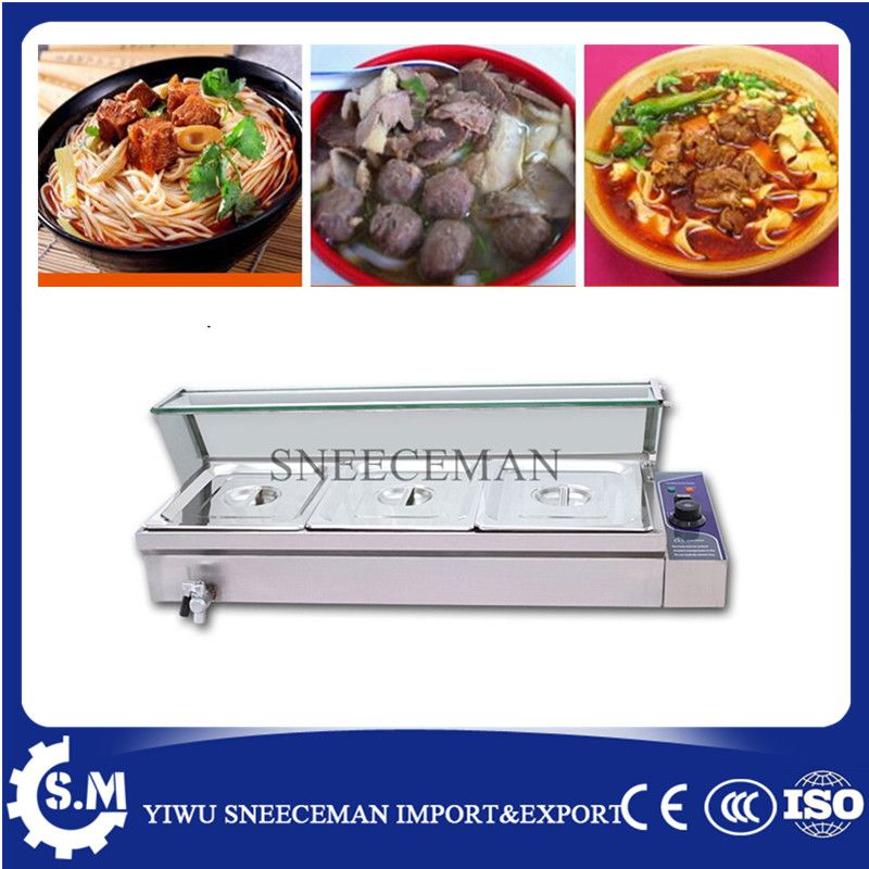 3pans commercial used electric food warmer for sale food