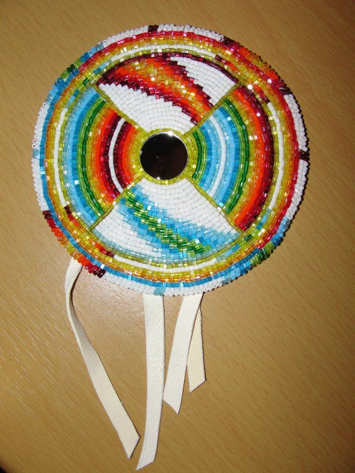 2dc1955ab Beaded Medallion by Denial616 on deviantART | Beaded/quilled ...